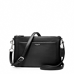 EAST/WEST SWINGPACK IN LEATHER - f48880 - F48880SVBK