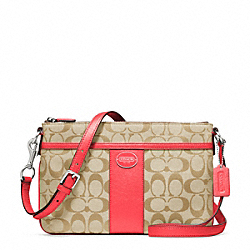 COACH F48887 Signature East/west Swingpack