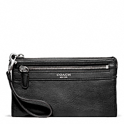 COACH F48891 Leather Zippy Wallet