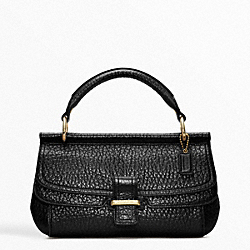 COACH F48930 Madison Flagship Pebble Dowel Clutch
