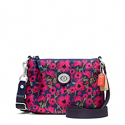 COACH F48940 - POPPY FLORAL PRINT SWINGPACK ONE-COLOR
