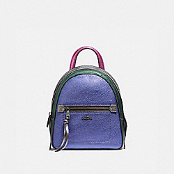 COACH F49122 - ANDI BACKPACK IN COLORBLOCK MULTI/BLACK ANTIQUE NICKEL