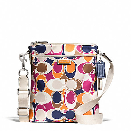 COACH F49152 PARK HAND DRAWN SCARF PRINT SWINGPACK ONE-COLOR