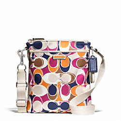 COACH F49152 Park Hand Drawn Scarf Print Swingpack