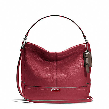 PARK LEATHER MINI DUFFLE CROSSBODY - COACH F49160 - ONE-COLOR