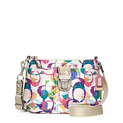 COACH F49202 Poppy Stamped C Swingpack