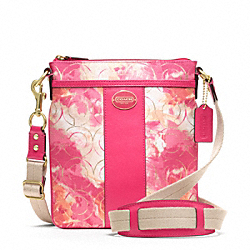 COACH F49215 - MADISON FLORAL SWINGPACK ONE-COLOR