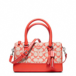 COACH F49261 - PRINTED SIGNATURE MINI SATCHEL ONE-COLOR