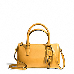 COACH F49292 - LEATHER MINI SATCHEL ONE-COLOR