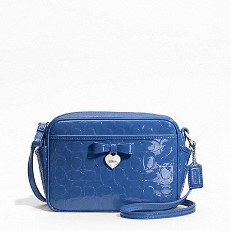 logo camera bag - Blue Coach gHpIF144