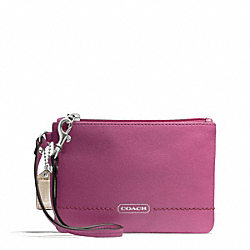 COACH F49475 Park Leather Small Wristlet