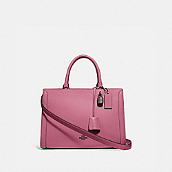 COACH F49500 - ZOE CARRYALL QB/PINK ROSE