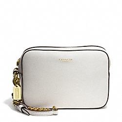 COACH F49790 Saffiano Leather Flight Wristlet