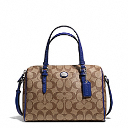 COACH F49862 - PEYTON SIGNATURE BENNETT MINI SATCHEL ONE-COLOR