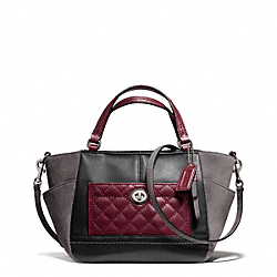 COACH F49865 - PARK QUILTED LEATHER MINI TOTE CROSSBODY ONE-COLOR