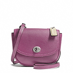 COACH F49872 - PARK LEATHER MINI CROSSBODY SILVER/ROSE