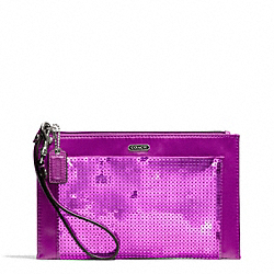COACH F49887 Occasion Sequin Party Clutch