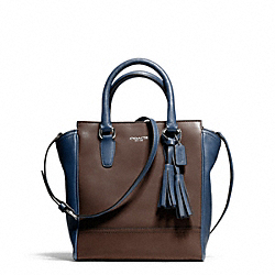 COACH F50029 - LEGACY TWO TONE LEATHER MINI TANNER ONE-COLOR