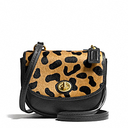 COACH F50079 Park Haircalf Mini Crossbody