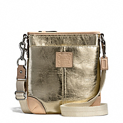 COACH F50168 - METALLIC SWINGPACK ONE-COLOR