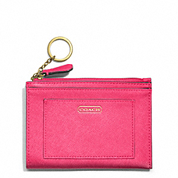 COACH F50425 Darcy Medium Skinny In Leather BRASS/POMEGRANATE