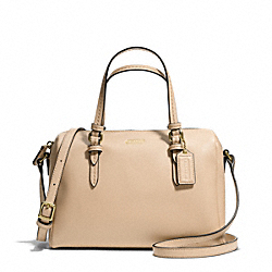 COACH F50430 Peyton Bennett Mini Satchel BRASS/SAND