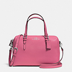 COACH F50430 - PEYTON BENNETT MINI SATCHEL SILVER/ROSE