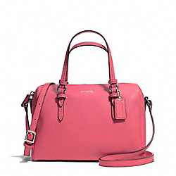 COACH F50430 - PEYTON BENNETT MINI SATCHEL SILVER/STRAWBERRY