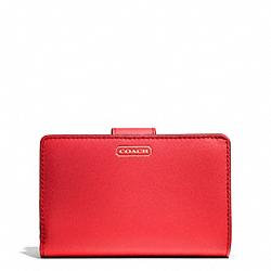 COACH F50431 Darcy Leather Medium Wallet BRASS/PERMISSON