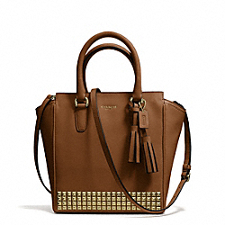 COACH F50470 Legacy Studded Leather Mini Tanner