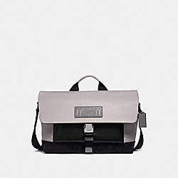 COACH F50504 - TERRAIN BIKE BAG GREY BIRCH/BLACK ANTIQUE NICKEL