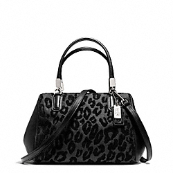 COACH F50508 Madison Ocelot Chenille Mini Satchel