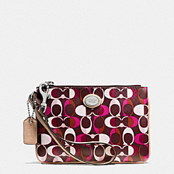 COACH F50523 Peyton Dream C Small Wristlet SVDDN