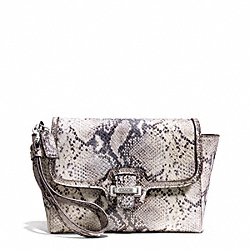 COACH F50579 Taylor Exotic Flap Clutch