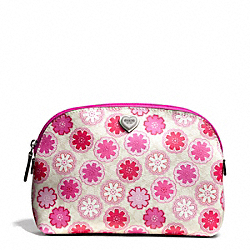 COACH F50675 Floral Print Cosmetic Case