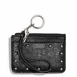 COACH F50700 Studded Liquid Gloss Id Skinny