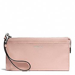 COACH F50860 Bleecker Leather Zippy Wallet