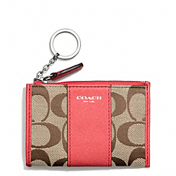 COACH F50943 Signature Mini Skinny