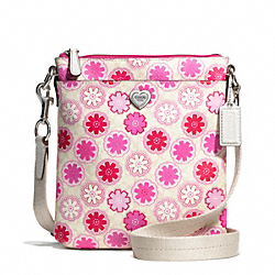 COACH F51105 - FLORAL PRINT SWINGPACK ONE-COLOR
