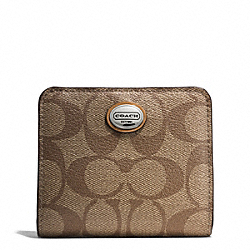 COACH F51130 Peyton Floral Small Wallet
