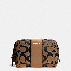 COACH F51172 Medium Cosmetic Case In Signature  GDD1J