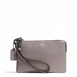 COACH F51197 Small Wristlet In Saffiano Leather QBD0C