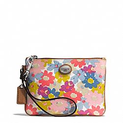 COACH F51205 Peyton Floral Small Wristlet