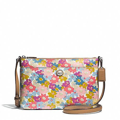 COACH F51215 PEYTON FLORAL BRINN EAST/WEST SWINGPACK ONE-COLOR