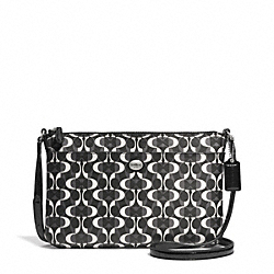COACH F51216 - PEYTON EAST/WEST SWINGPACK IN DREAM C COATED CANVAS ONE-COLOR