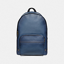 COACH F51226 Houston Backpack DENIM/BRASS