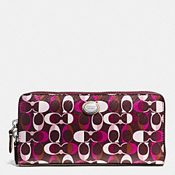 COACH F51363 Peyton Dream C Accordion Zip Wallet SVDDN