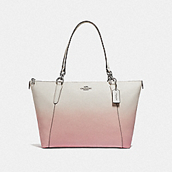 COACH F51654 Ava Tote With Ombre PINK MULTI/SILVER