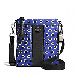 COACH F51723 Mini Dot Stripe Swingpack