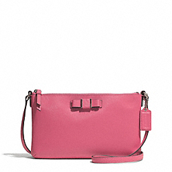 COACH F51858 - DARCY BOW EAST/WEST SWINGPACK SILVER/STRAWBERRY